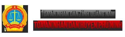 Trang thông tin điện tử Tòa án nhân dân huyện Phú Ninh